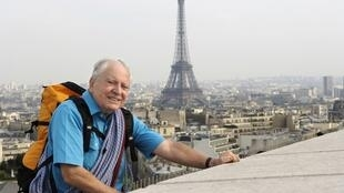 Maurice Herzog en 2005, lorsque Paris faisait campagne pour l'organisation des JO 2012.
