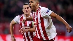 Le Marocain Youssef El Arabi a inscrit le but de la victoire de l'Olympiakos contre l'Etoile rouge de Belgrade.