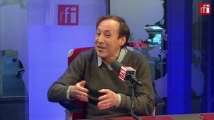 Игорь Минаев в студии RFI