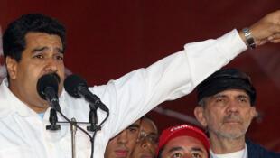 Le président vénézuélien, Nicolas Maduro, à Caracas, le 25 février 2014.
