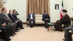 آیتالله علی خامنهای در دیدار با دبیرکل جهاد اسلامی فلسطین گفت اسرائیل تا ۲۵ سال دیگر وجود نخواهد داشت