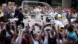 教皇方济各访问智利。2018-01-16