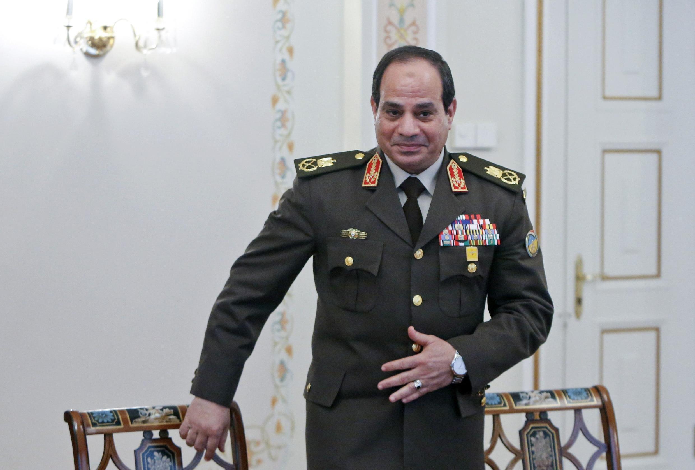 Abdel Fatah al-Sisi aliyekuwa mkuu wa majeshi wa Misri na anawania kiti cha urais