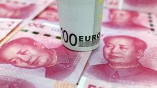 O Produto Interno Bruto (PIB) chinês cresceu 6,9% em 2015, o menor resultado desde 1990, balançando as perspectivas econômicas na zona do euro.