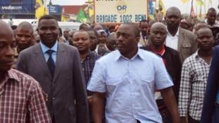 Rais wa Jamhuri ya Kidemokrasia ya Congo Joseph Kabila akiwa mjini Beni