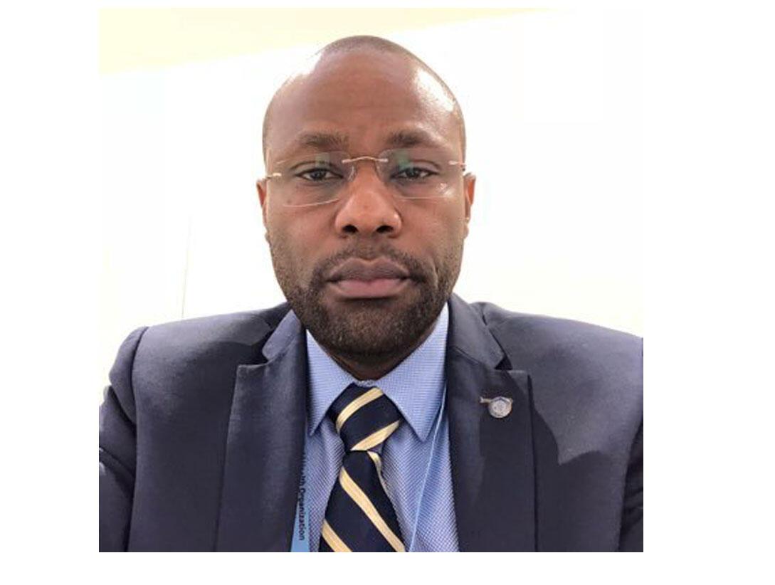 """Dr Michel Yao, diɲɛ kɛnɛyako tɔnba """"OMS"""" bolofara Farafinna, ɲɛmɔgɔ."""