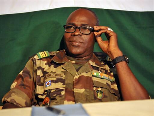 General Salou Djibo, head of Niger's ruling junta.