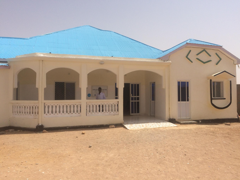 Le centre de stabilisation de Garowe en Somalie, en juillet 2017