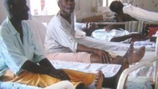 Instalações do Hospital Dr. Ayres de Menezes de São Tomé e Príncipe