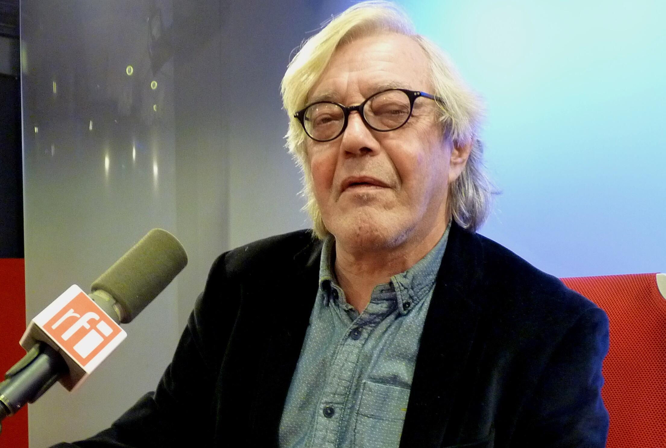 Jacobo Machover en los estudios de RFI
