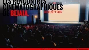 Affiche de la 14e édition des Rencontres cinématographiques de Béjaïa.
