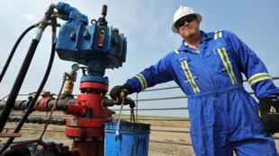 Site pétrolier dans la province canadienne du Saskatchewan.
