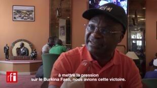 L'ancien joueur camerounais Roger Milla.