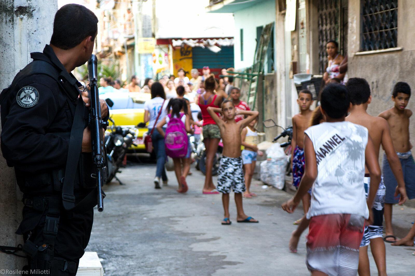 Operação policial Maré Rio