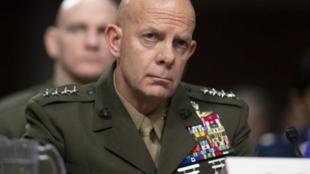 美国海军陆战队司令大卫·伯杰资料图片