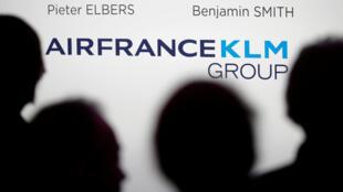 El grupo Air France-KLM nacido de una fusión entre las dos compañías en 2003.