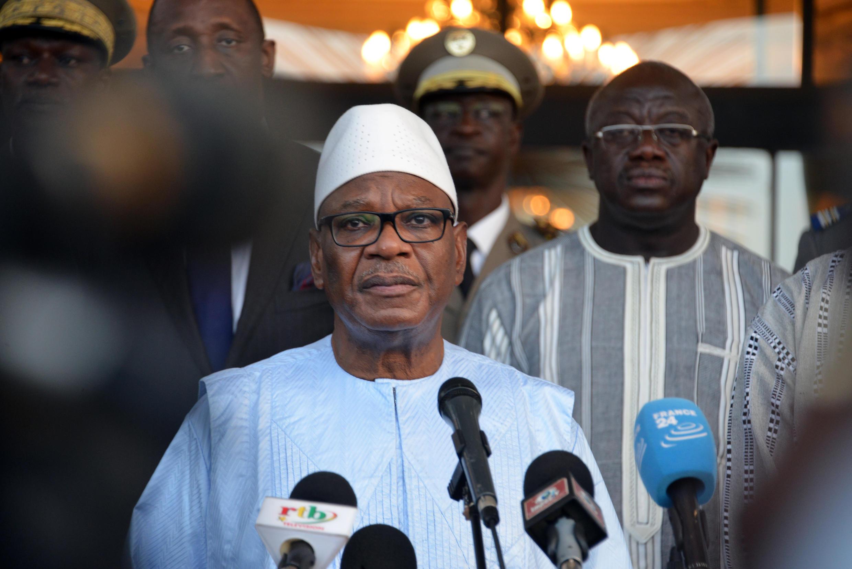 Ibrahim Boubacar Keïta na Mali