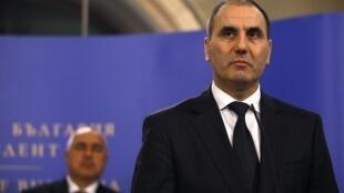 Ministan Tsohon ministan ciki gidan kasar Bulgeria Tsvetan Tsvetanov.