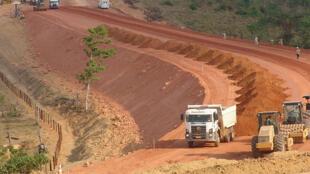 Le barrage de Belo Monte.