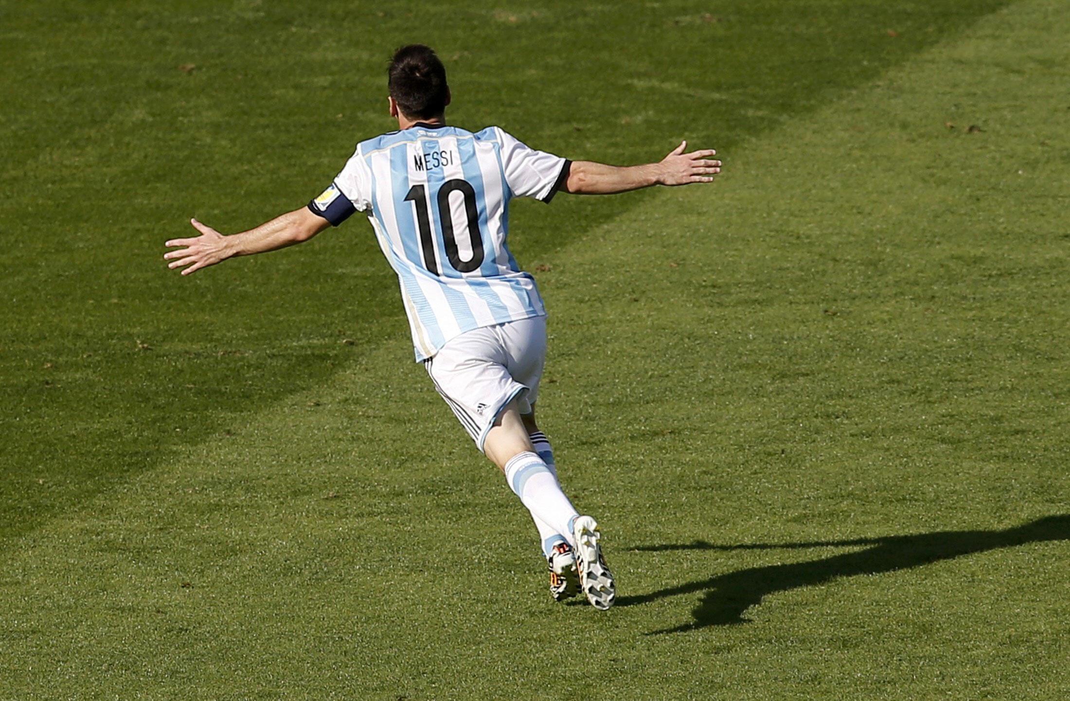 Mshambulizi wa Argentina Lionel Messi
