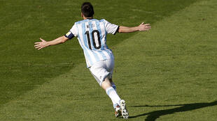 Lionel Messi na Argentina