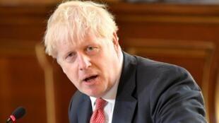Le Premier ministre britannique Boris Johnson, le 1er septembre 2020, à Londres.