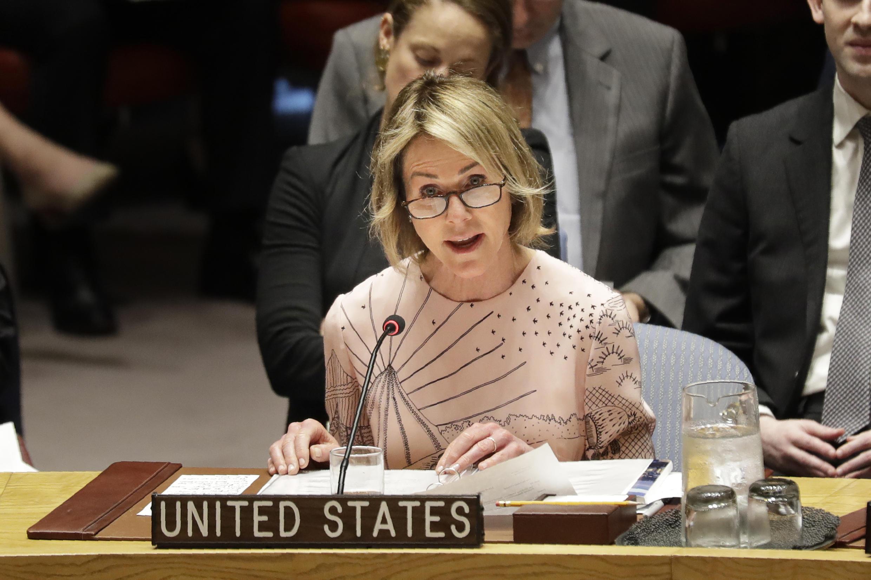 کلی کرافت نمایندۀ آمریکا در سازمان ملل