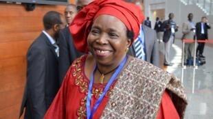 La présidente de la Commission de l'Union africaine Nkosazana Dlamini-Zuma, le 16 juillet 2012.