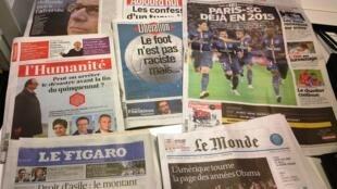Diários franceses 06/11/2014