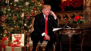 Donald Trump, le 24/12/2017.
