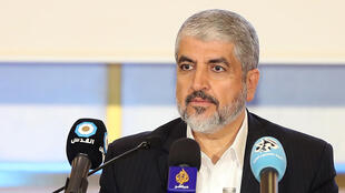 Líder do Hamas, Khaled Meshaal Doha