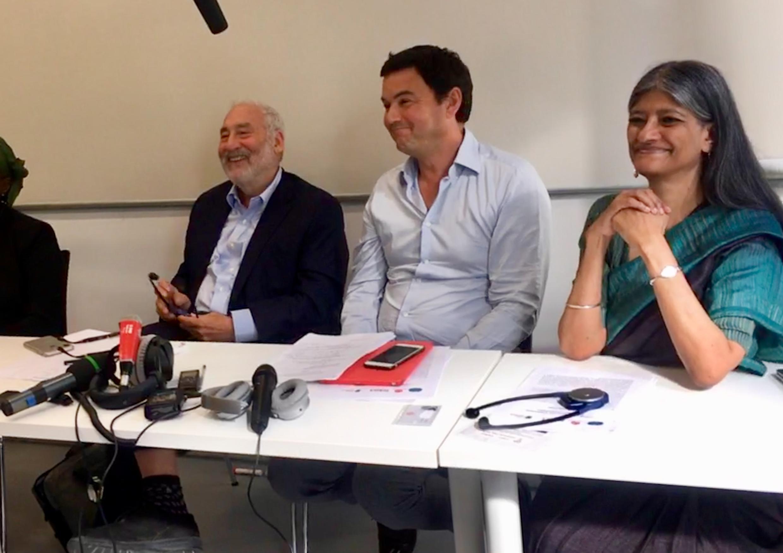 Joseph Stiglitz, Nobel de Economia, o francês Thomas Piketty, autor do best seller O Capital no Século 21, e a professora Jayati Ghosh, da Jawaharlal Nehru University, integram comussão que defende reforma fiscal corporativa em nível mundial.