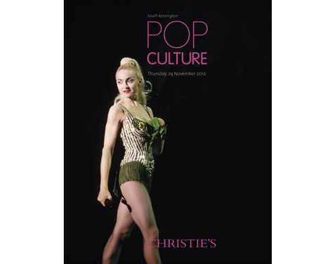 Афиша аукциона Christie's Pop Culture