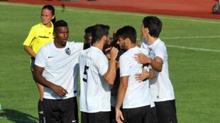 A equipa do Vitória de Guimarães.