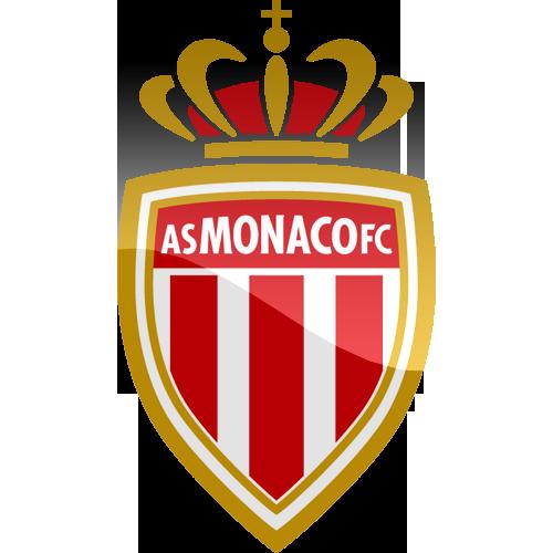 Emblema do clube de futebol francês Mónaco
