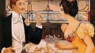 法国人喜欢在餐馆幽会