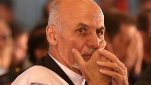 Ashraf Ghani shugaban Afghanistan.