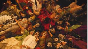 Extrait de l'affiche de la pièce arménienne «Le dentiste oriental» (1869), de Hagop Baronian, actuellement au Théâtre municipal d'Istanbul.