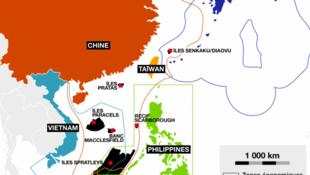 Les conflits en mers de Chine.