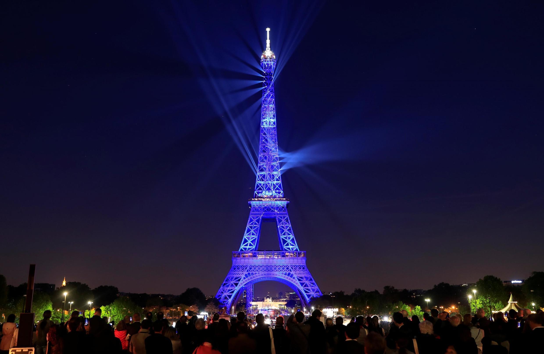 130 лет Эйфелевой башне: световое шоу 15 мая 2019