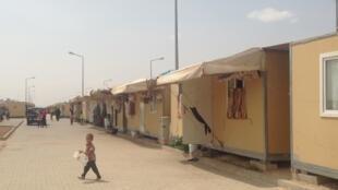 Campo de refugiados de Elbeyli, Gazientep, Turquia