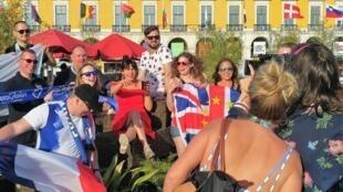 Lisboa, palco de festa e de alegria