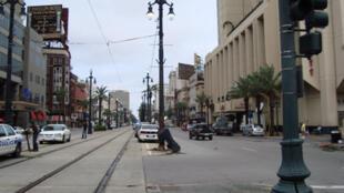 Une rue de la Nouvelle-Orléans, septembre 2010.