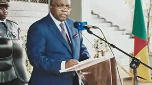 Le ministre camerounais de la Communication René Sadi.