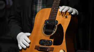 Kurt Cobain's guitar was the most expensive ever sold at auction