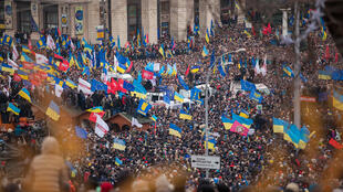 Euromaidan in Kiev on 1 December 2013