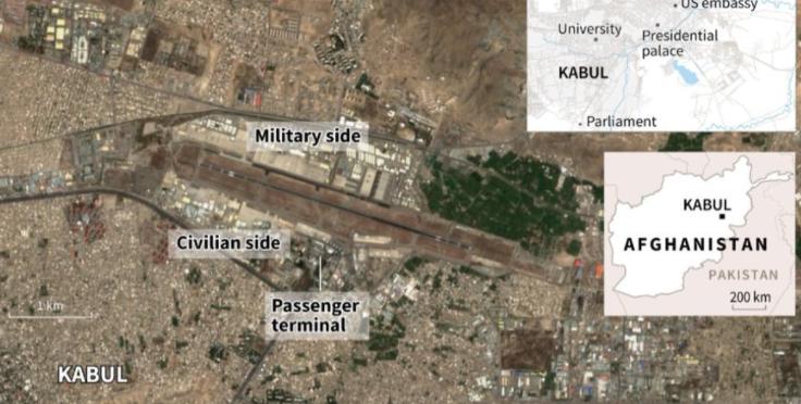 阿富汗國際機場平面圖