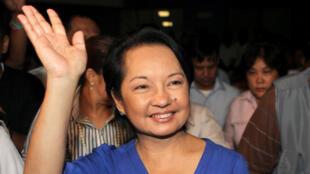 Bà Gloria Macapagal Arroyo. Ảnh chụp tại Manila, năm 2010.