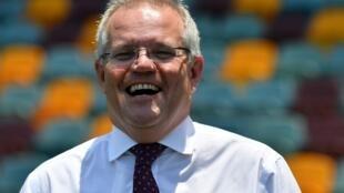 Le Premier ministre australien Scott Morrison à Brisbane le 20 novembre 2019.