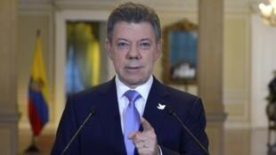 Juan Manuel dos Santos, presidente da Colômbia, disse que a libertação dos soldados pelas Farc é prova da a maturidade do processo de paz.
